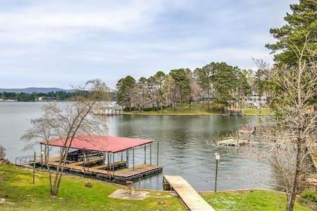 Incredible Lake Hamilton House w Private Dock