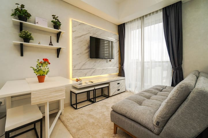 New and cozy 2BR apt @ Taman Anggrek Residences