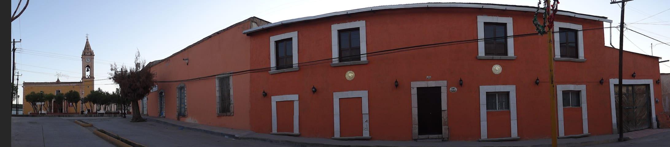 Santa María del Oro的民宿