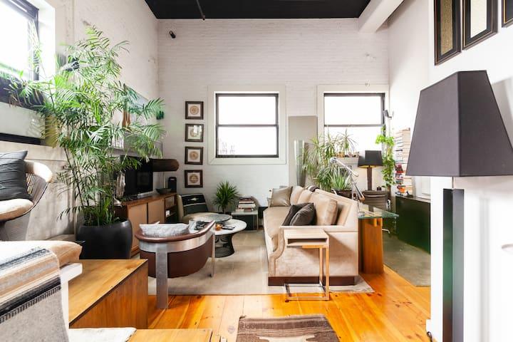 Authentic Luxury Designed Loft