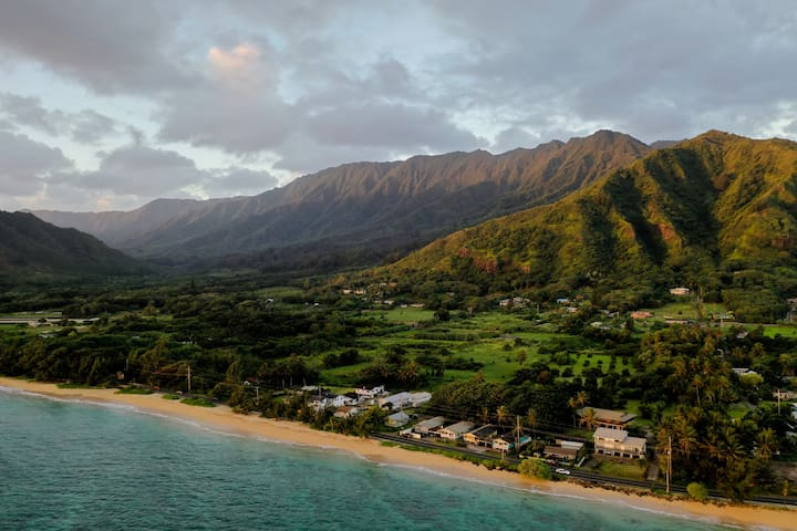 """""""HALE HONU"""" North Shore Surf and Beach House."""