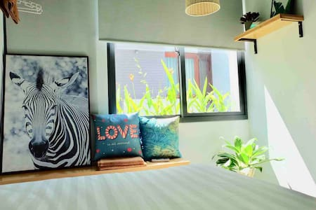 URI HOUSE 2★entire apt★2BRs for 5★kitchen & sofa