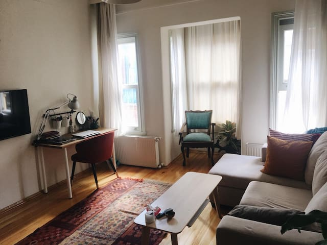 Entire Cosy Flat in the Heart of Balat (Old City)
