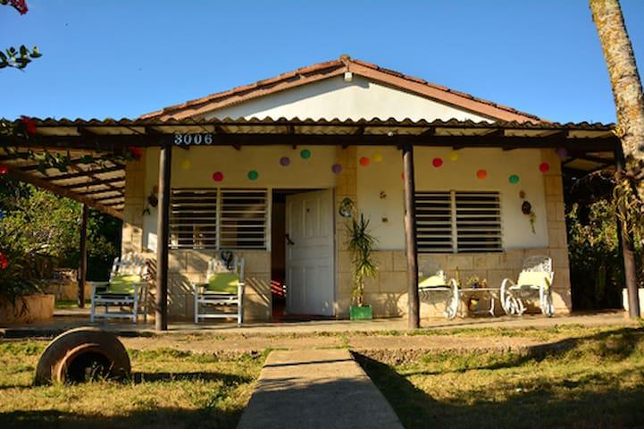 San Diego de los Baños的民宿