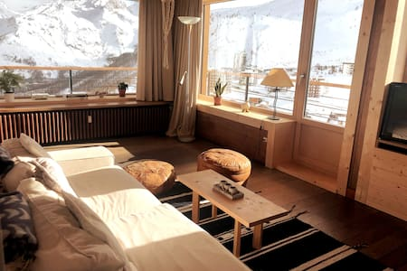 Ski-in/Ski-out 45m2 apartment with Panorama view