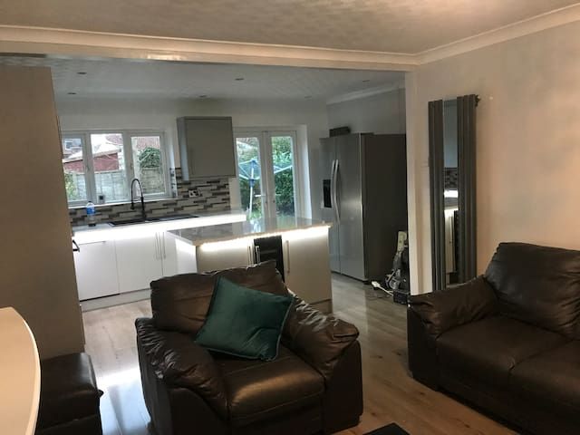 Great stylish room in a nice location .
