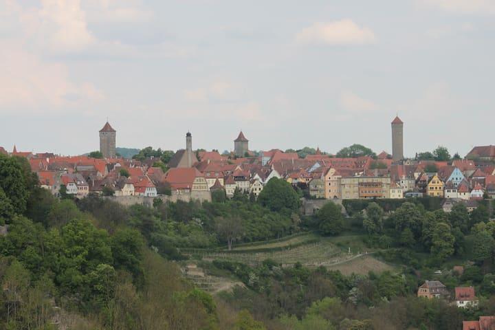 Rothenburg ob der Tauber的民宿
