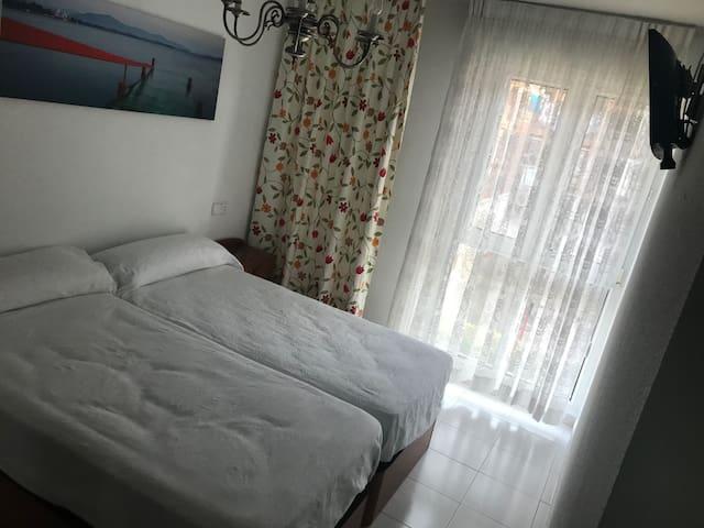 Apartamento en el centro de Somo. Playa a 200 m.