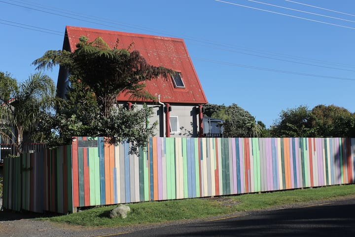 Cooks Beach Cottage on the Coromandel