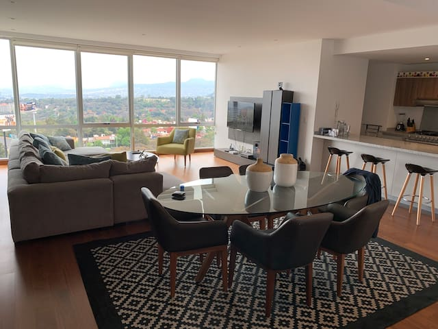 Beautiful Apartment in Santa Fe with a View