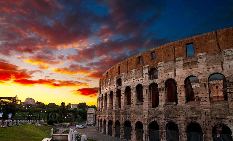罗马的民宿