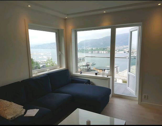 Privat room with a beautiful view of Bergen