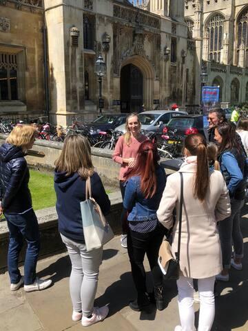 剑桥的体验