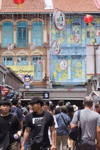 新加坡城的体验