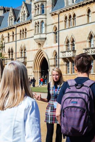 牛津的体验