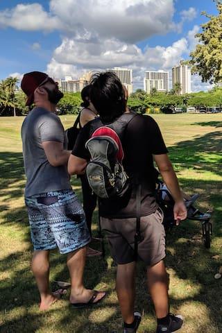 夏威夷的体验