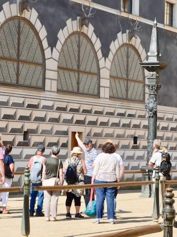 宫殿广场的体验