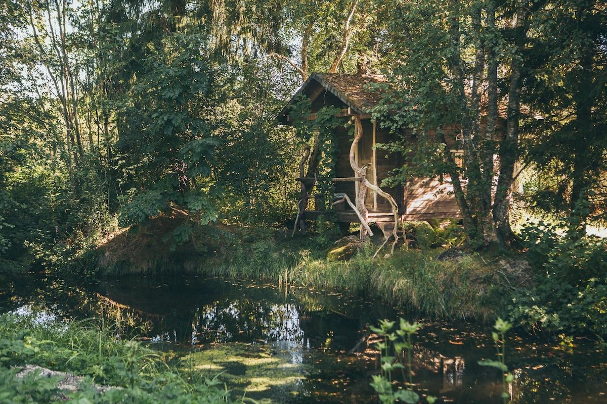 Paju forest hut