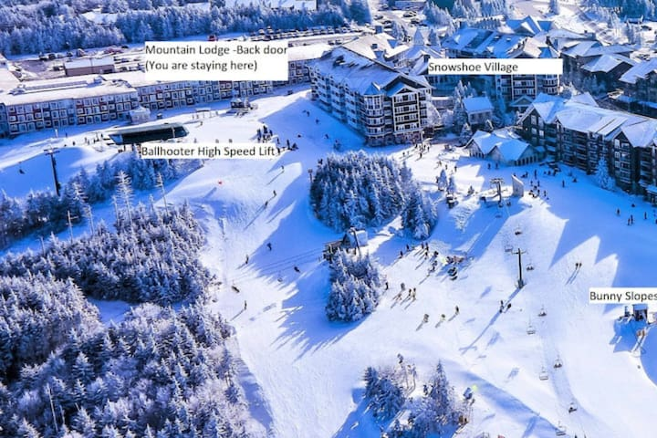 Stroll to Slopes, Village Area, Ski in/out Unit384