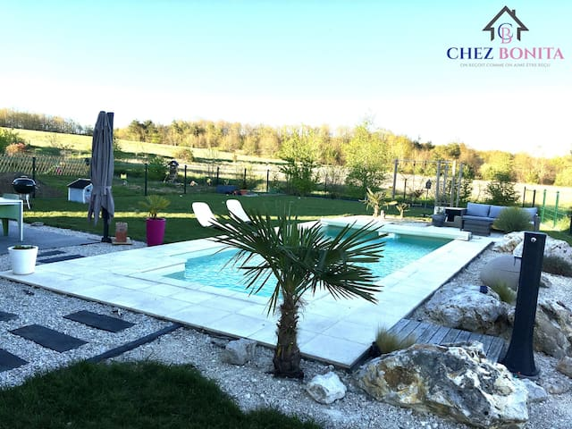 Chouzy-sur-Cisse的民宿