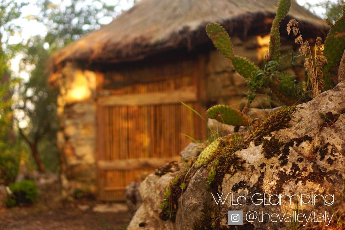 The REAL Flintstone Hut in paradise!