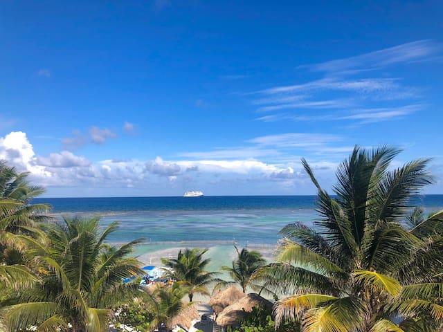 Mahahual, Quintana Roo的民宿