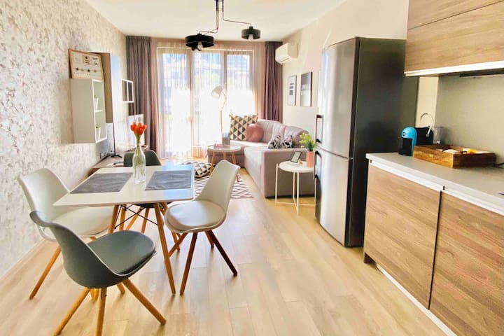 *K's City Living Plovdiv Center and Free parking