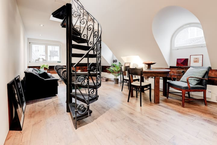 Contemporary penthouse in Tallinn's Old Town