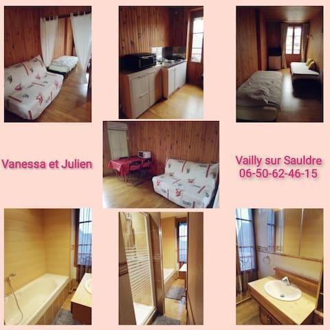 Vailly-sur-Sauldre的民宿