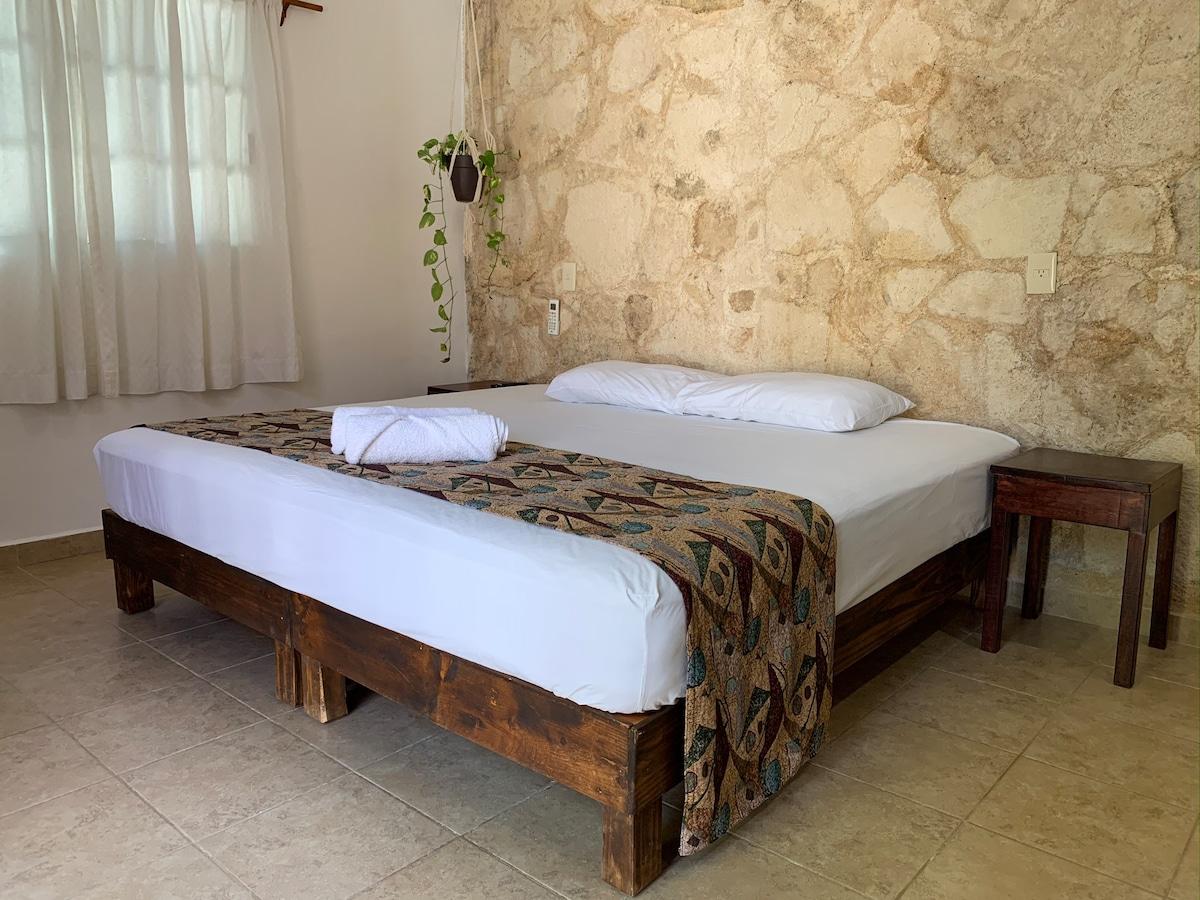 Mayan style privated studio near to touristic area