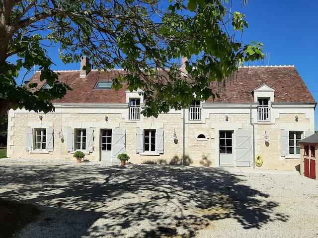 Châteauvieux的民宿