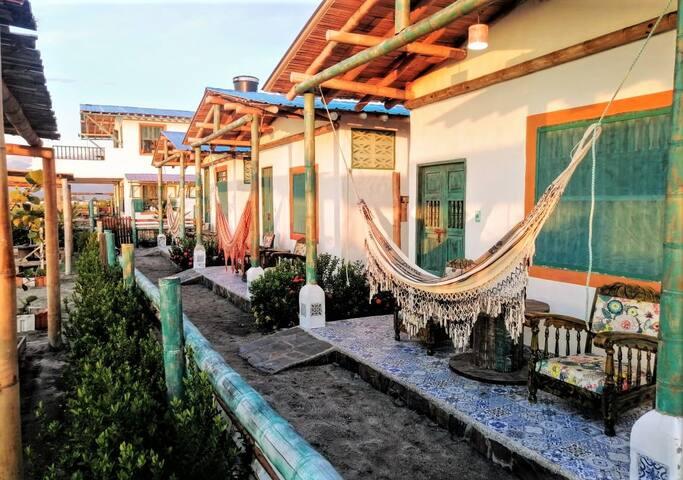 Puebloviejo的民宿