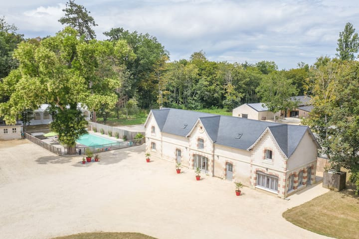 Vendeuvre-du-Poitou的民宿