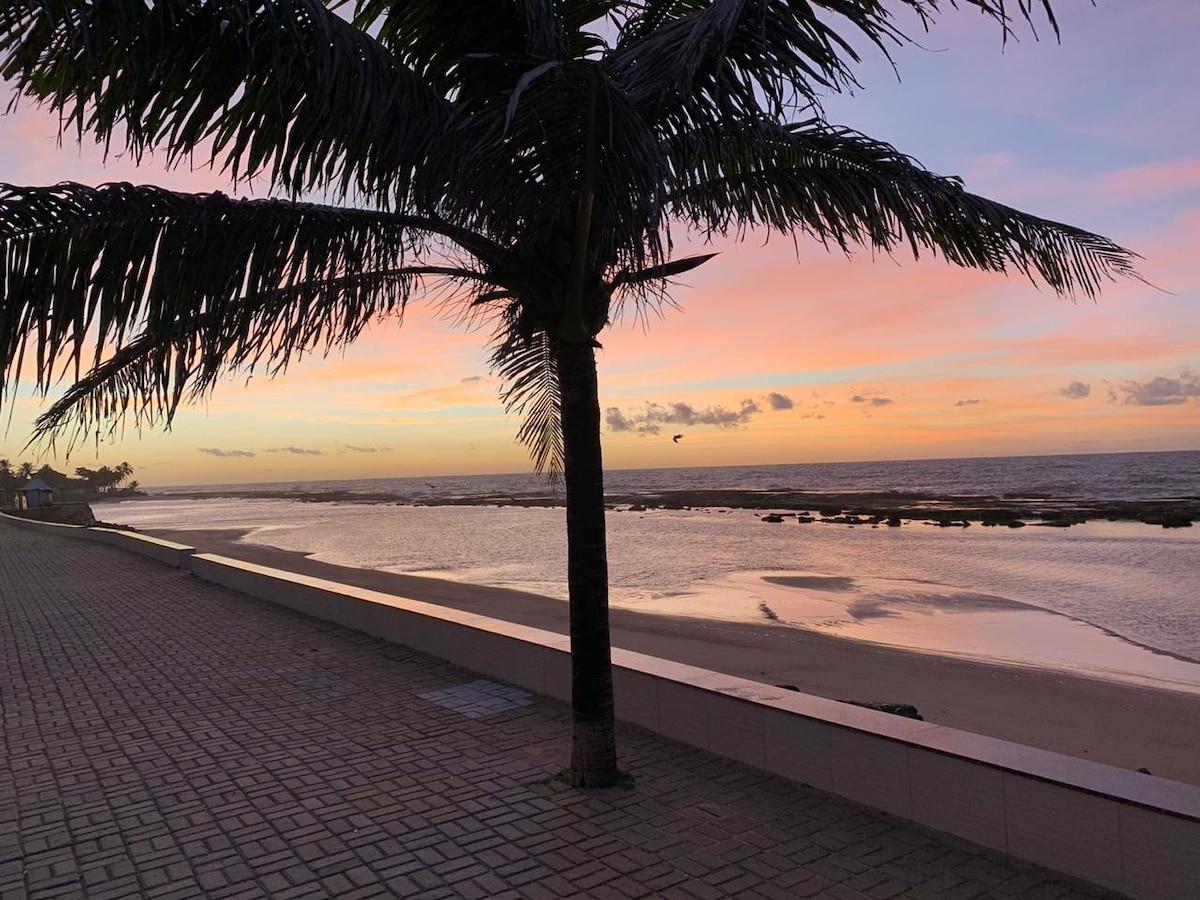 Casa Beira Mar, Jauá, 5 Quartos, Piscina Privativa