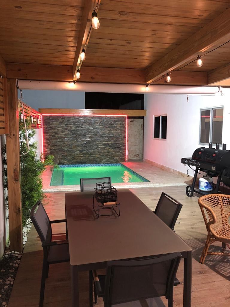 Villa With Private Pool For 7 People In Punta Cana