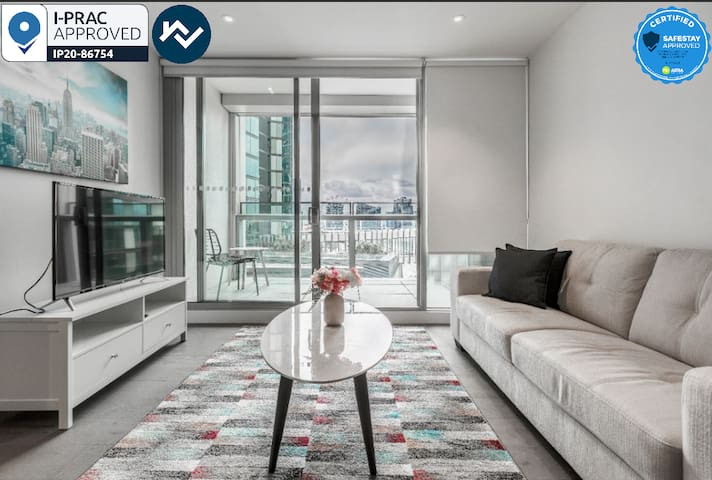 Docklands Corporate 1BR service Apartment