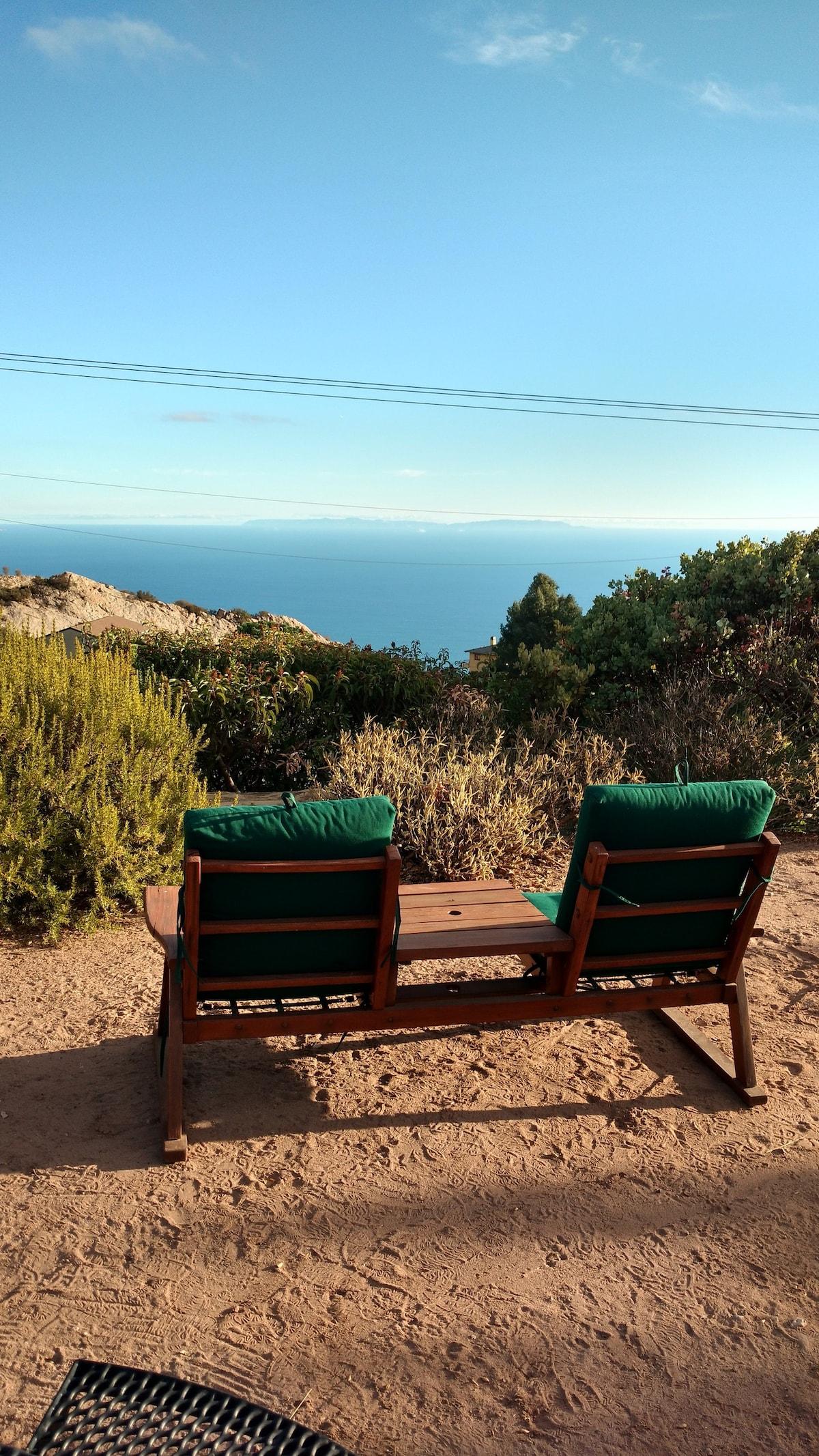 Highest Mountain Top retreat in Malibu, Ocean View
