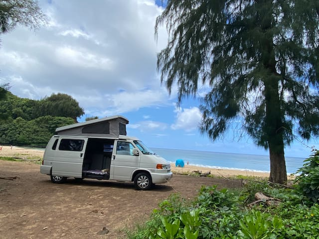 Why rent room and car when you can rent our camper
