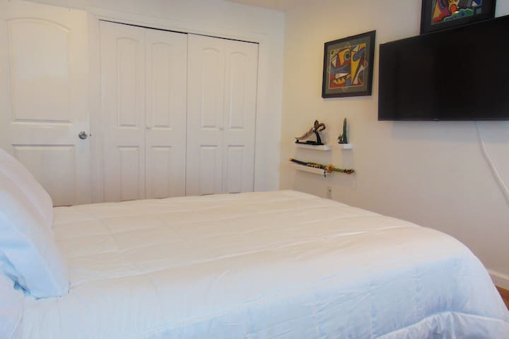 Great place to crash! Private room in smooth condo