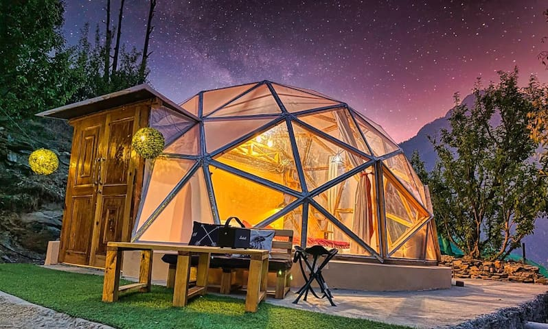 A Cozy Dome with Attic in Parvati Valley