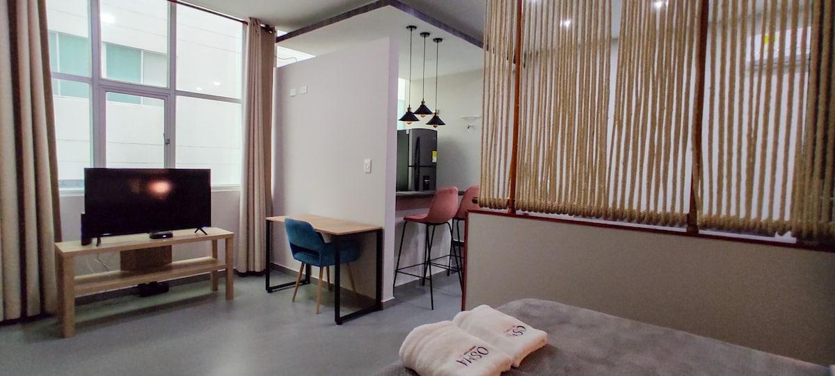 Hermoso loft, cómodo y tranquilo.