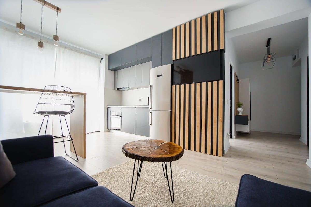 Monochrome Style Central Apartment