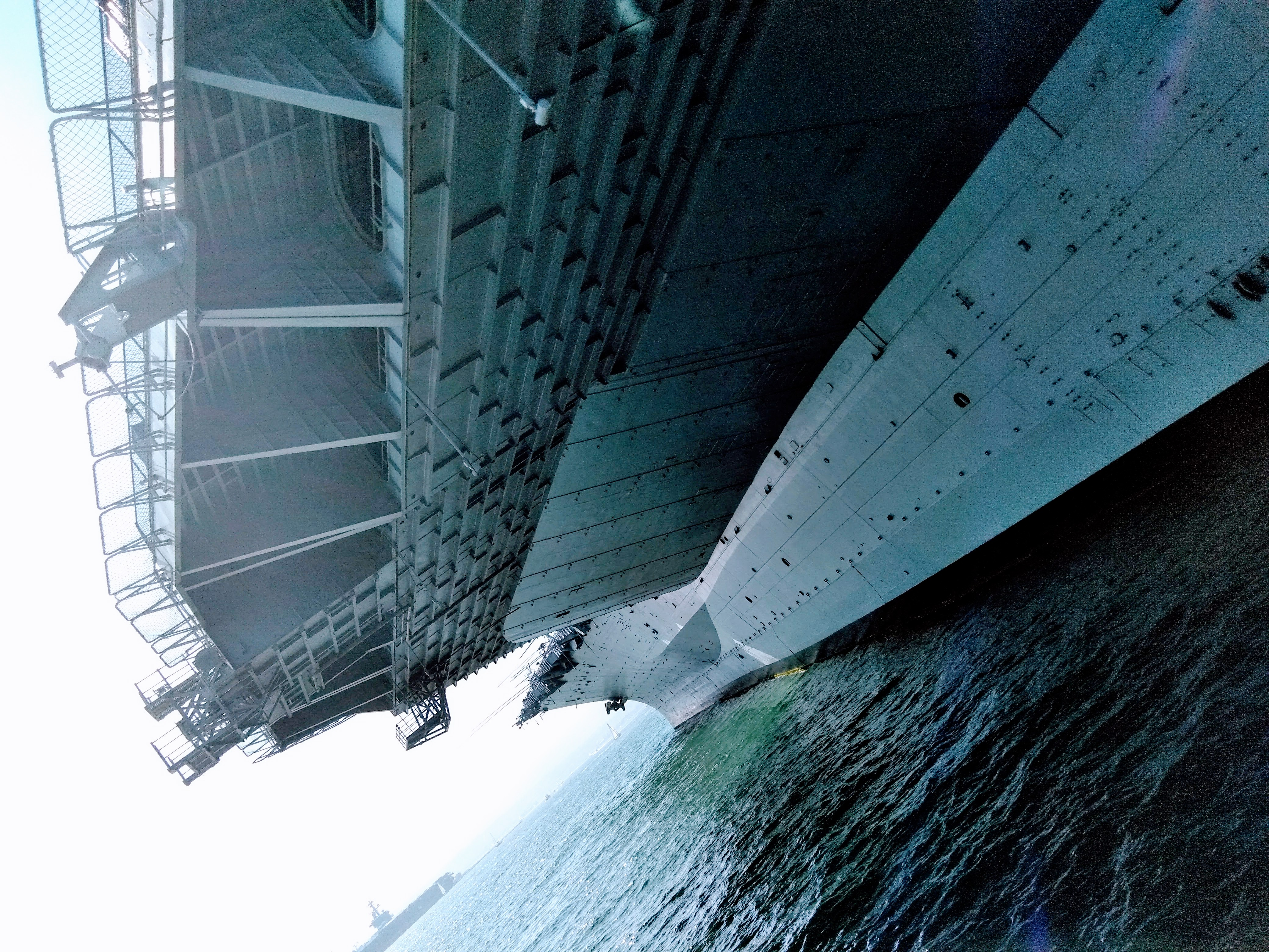 USS Midway Museum up close.