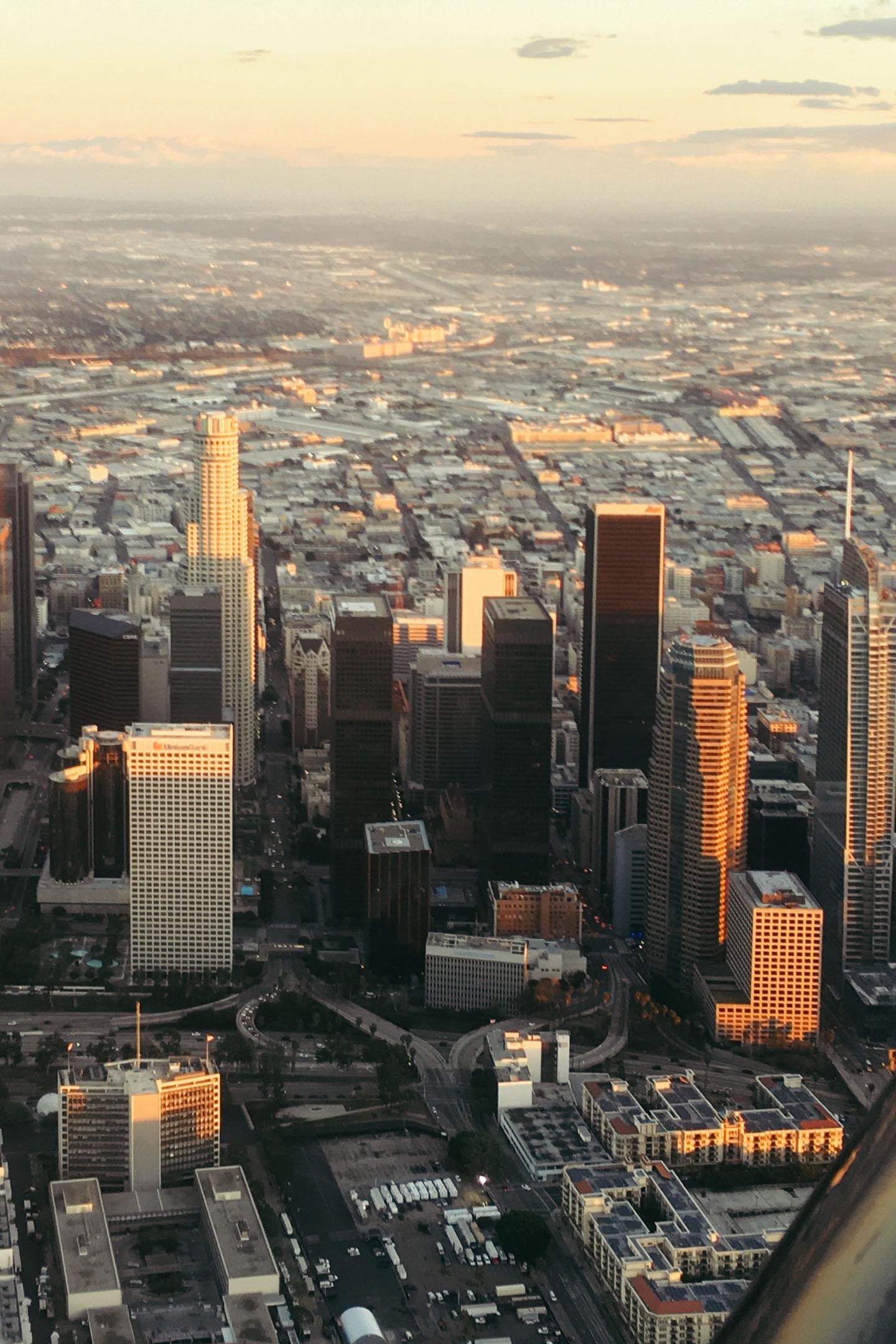 The Skycrapers of LA