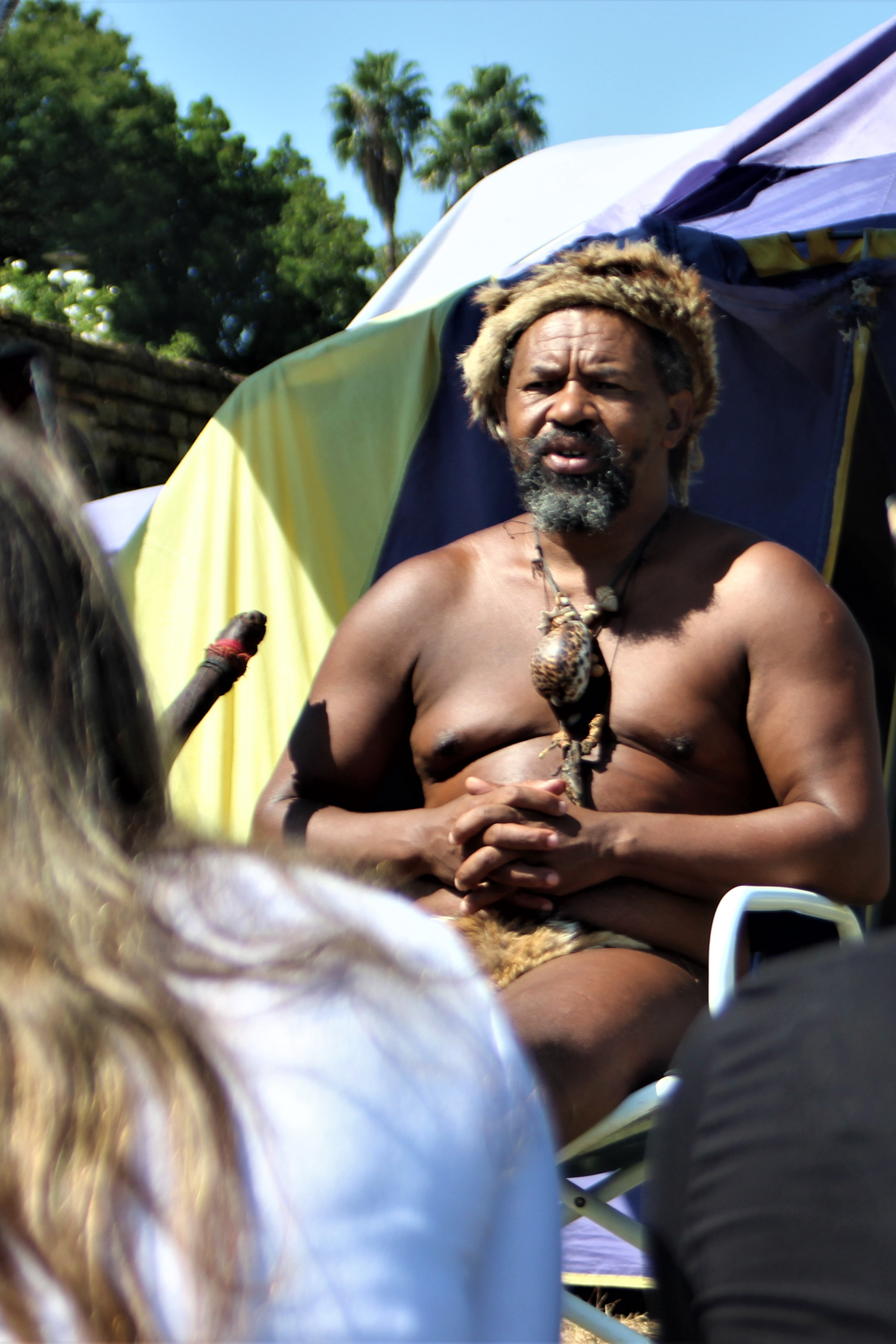 Khoisan leader shares his story