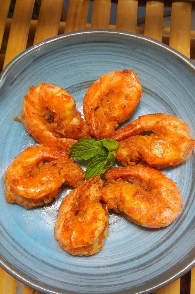 Salted Pawn with Fish-sauce