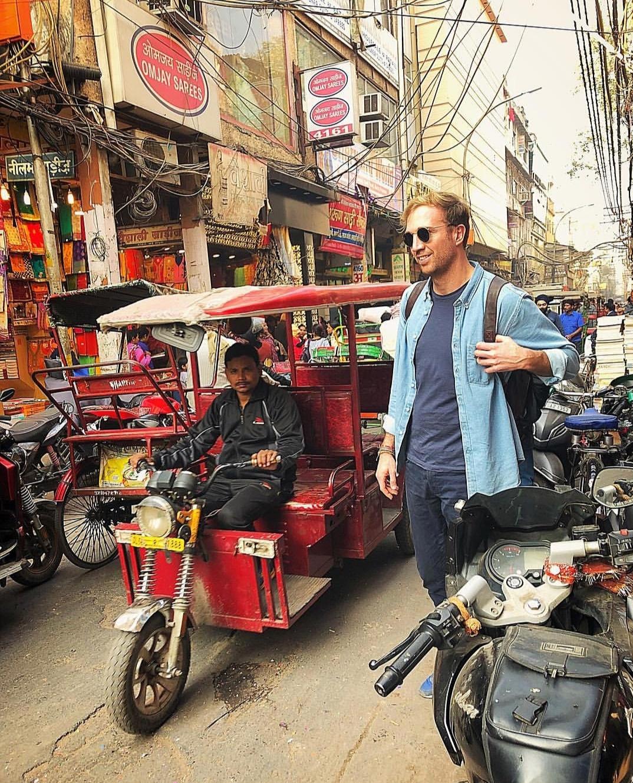 Crazy ride in Tuk-Tuk Rikshaw