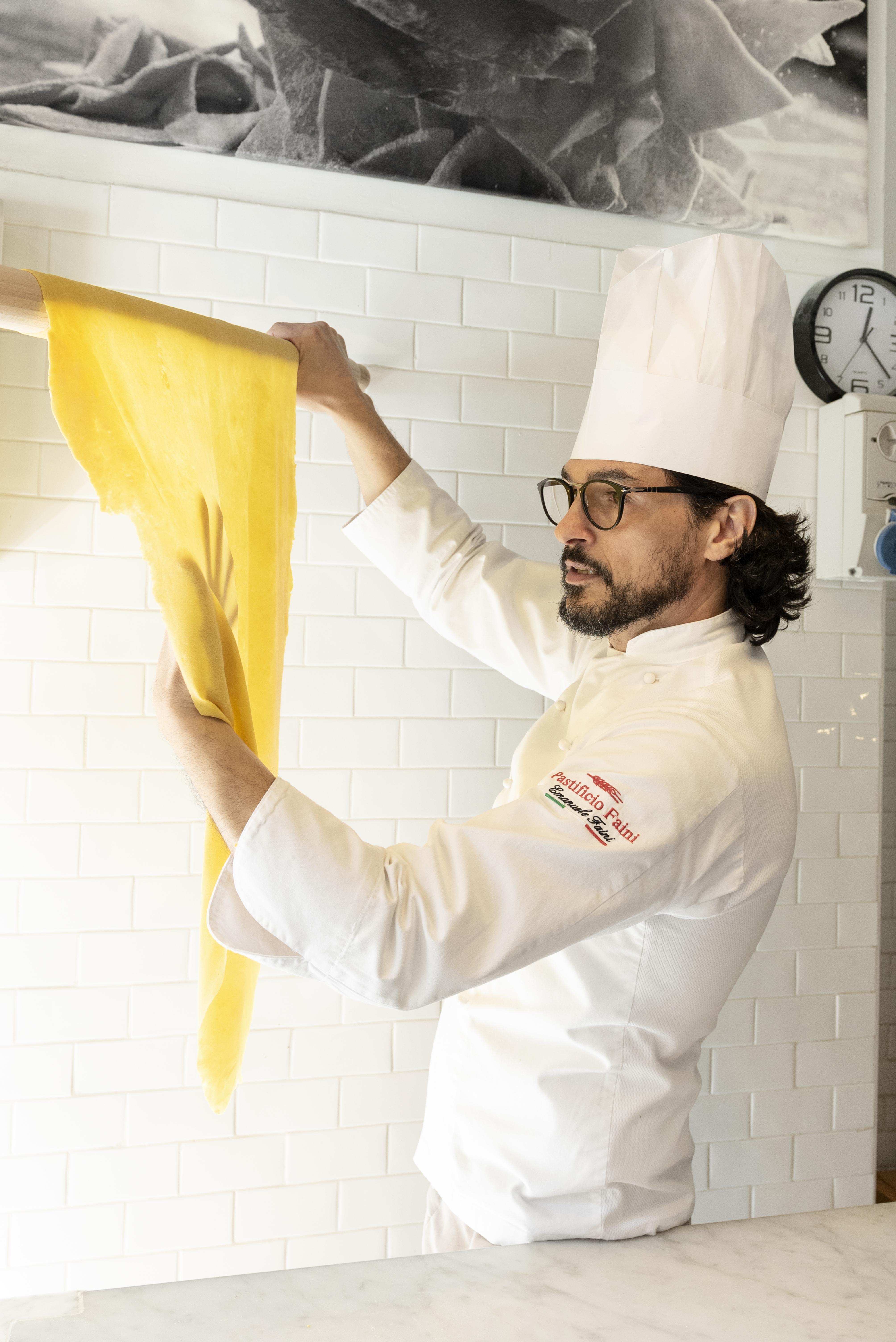 Thin hand made pasta