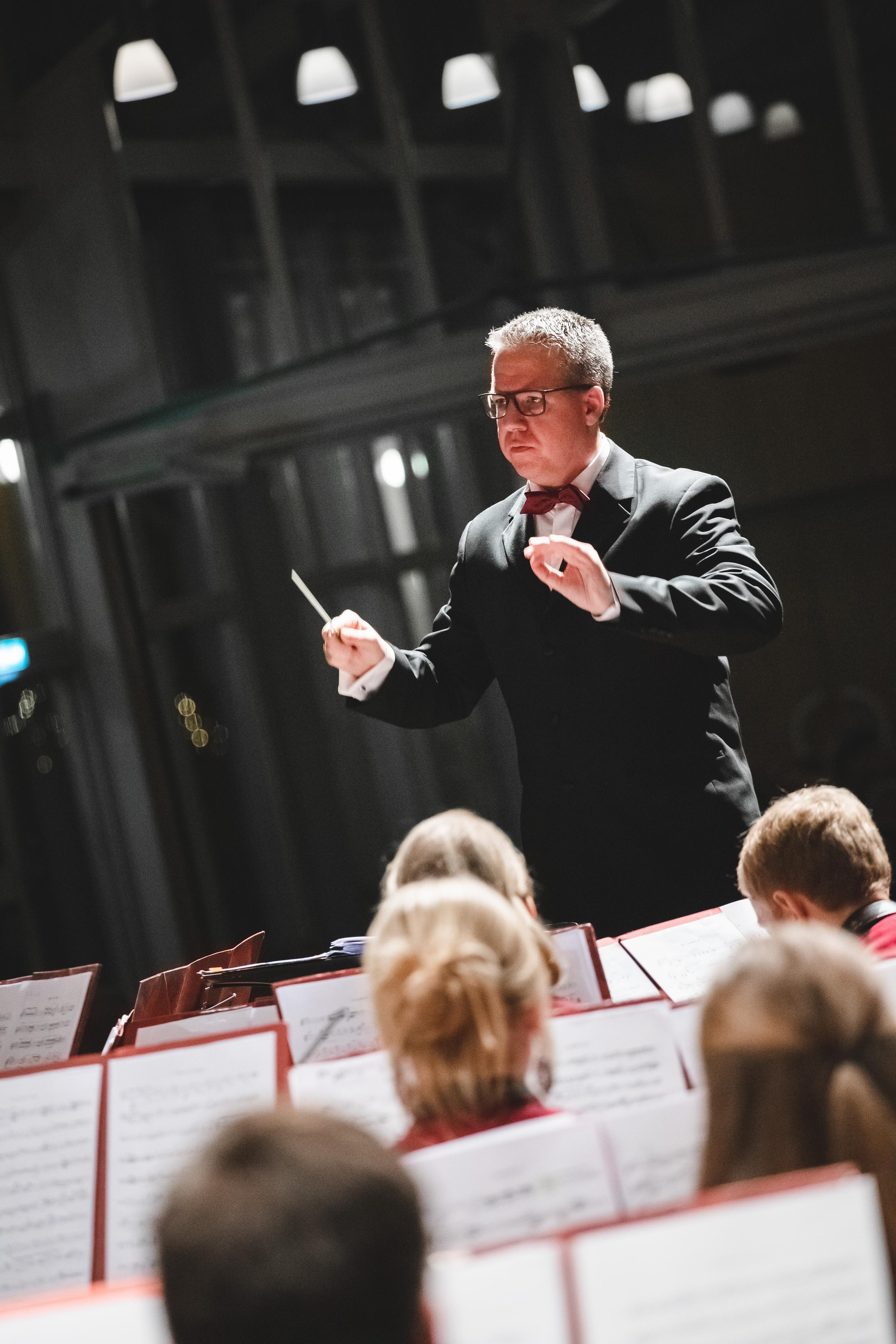 Als Dirigent gestalten Sie die Musik