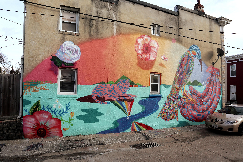 CosmicBoys: duo of mural artists